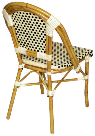 Aluminum Bamboo Patio Chair Image0 Image1