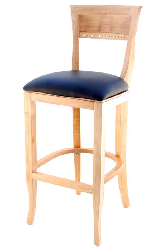 Premium Us Made Beidermeir Wood Bar Stool