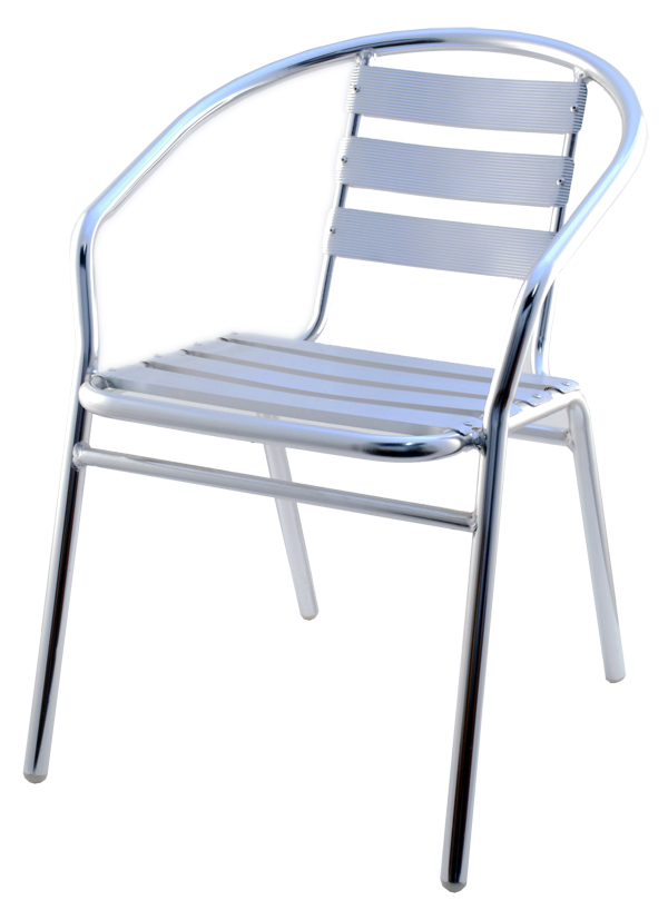Stainless steel patio chair rfs 621 for Steel outdoor furniture