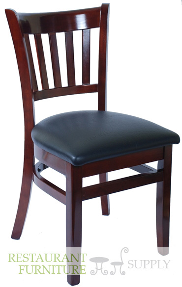 On Sale Vertical Slat Wood Chair
