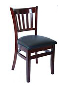 On Sale Vertical Slat Wood Chair