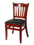 On Sale Crown Back Wood Chair