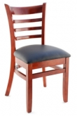 Premium US Made Ladder Back Wood Chair