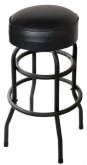Double Ringed Swivel Bar Stool