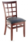 Premium US Made Window Back Wood Chair