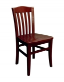 Vertical Slat Beechwood Chair