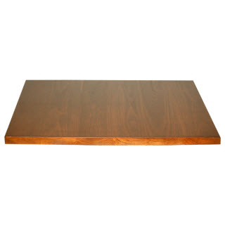 Square Plank Wood Table Top - Custom restaurant table tops